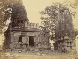 General view of large temple at Narayanpur, Raipur District